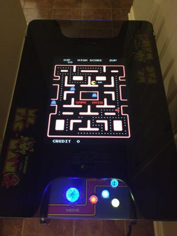 Ms. Pacman Cocktail Multicade Arcade w/ 60 games