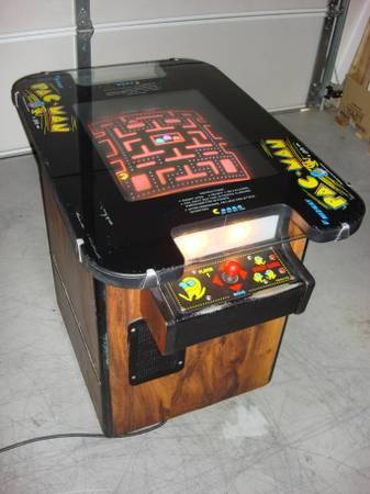 MS PACMAN COCKTAIL TABLE ARCADE - $525