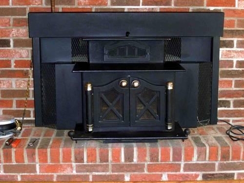Ms Stratford Wood Burning Fireplace Stove Insert