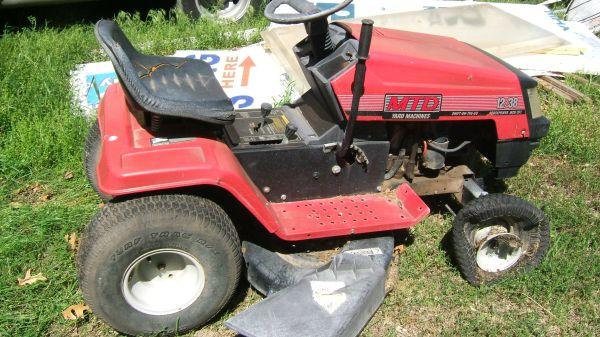 Mtd 12hp 38 Quot Riding Mower For Sale In Tulsa Oklahoma