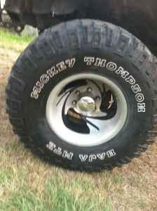 mud tires and rims trade millen for sale in statesboro georgia classified. Black Bedroom Furniture Sets. Home Design Ideas