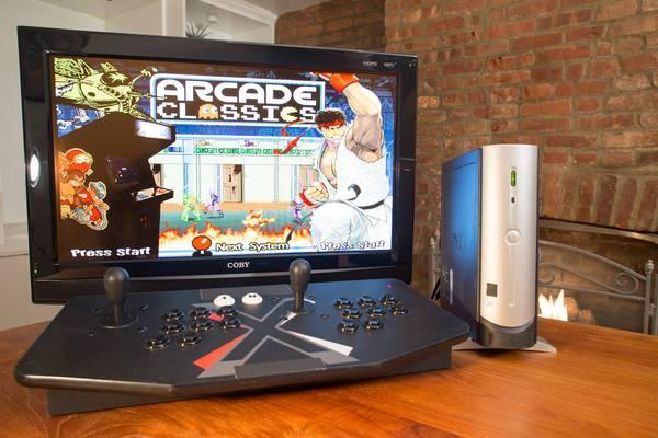 Multi-Game Multicade TV Based Arcade Machine 30K Games Hyperspin - $650