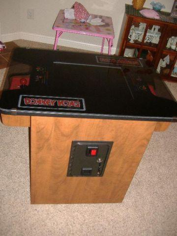Multicade Cocktail - Donkey Kong Arcade w 60 games  LEDs SALE