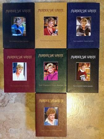 Murder She Wrote DVDs - $50