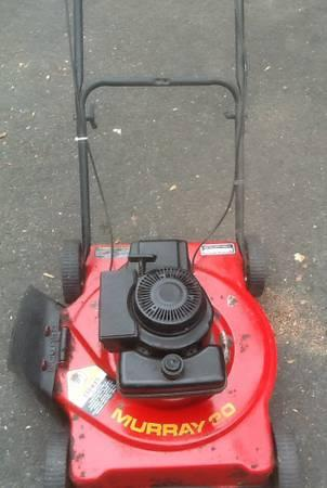 Murray 20 Quot Push Mower Gas Powered Lawn Mower Not Working