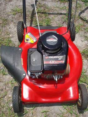 Murray 4 0 Hp Push Mower Red Color For Sale In Saint