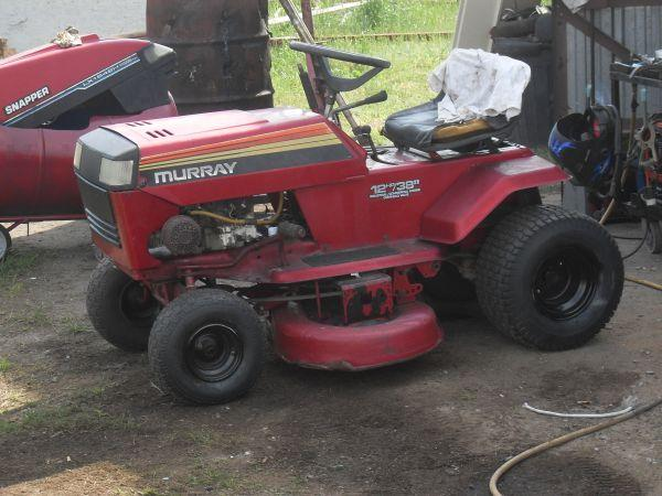 Murray Lawn Mowers Battery : Murray riding mower for sale in macon georgia