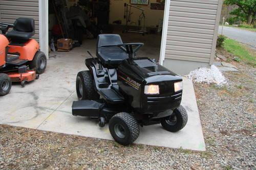 Lawn Tractor Body : Murray select wide body hp quot deck tractor for sale