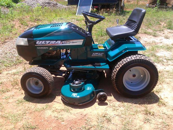 Lawn Tractor Body : Murray ultra garden tractor hp briggs and stratton