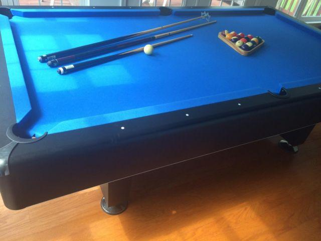 Murrey Delano 8ft Slate Pool Table W Accessories For Sale