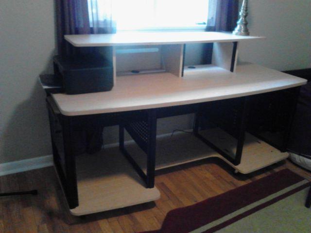 music studio desk studio rta producer station w rack mounts for sale in holland michigan. Black Bedroom Furniture Sets. Home Design Ideas