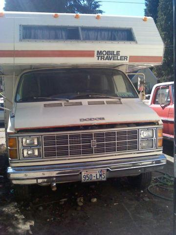 Must Sell 1980 Dodge Quot Mobile Traveler Quot Motor Home Runs Great For Sale In Tacoma Washington