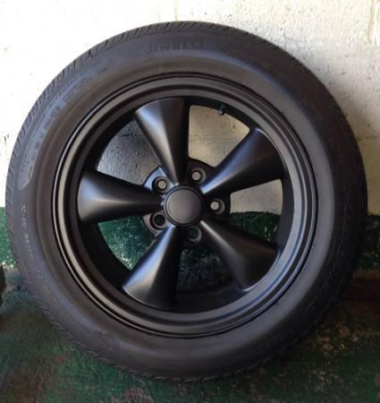Mustang Bullitt 17 x 8 Wheels  Tires Rims Ford Torque Thrust - $500