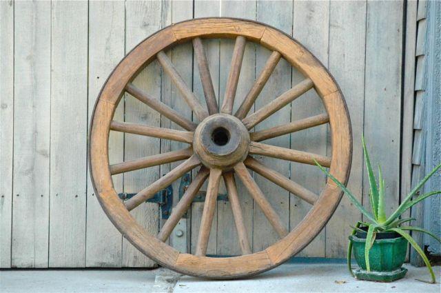 My Vintage Wagon Wheel