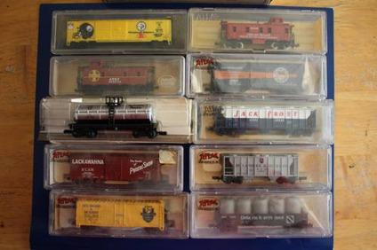 N scale train cars for sale
