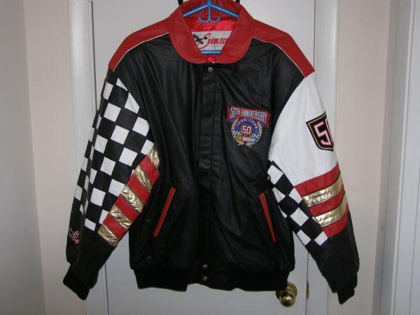 NASCAR 50th Anniversary Leather Jacket - $500