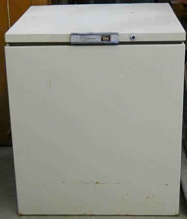 National Commercial Heavy Duty Small Chest Freezer - $125