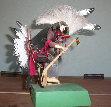 Native American Lakota Traditional Fancy Dancer Doll
