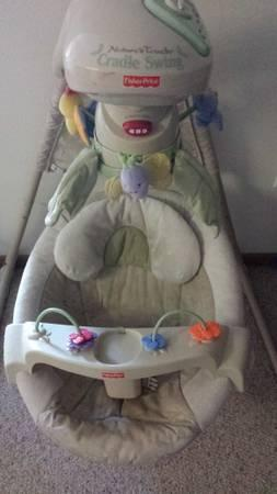 Nature S Touch Cradle Swing By Fisher Price For Sale In