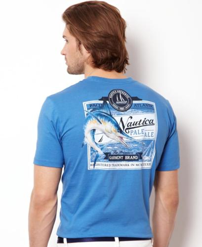 Nautica big and tall shirt pale ale graphic t shirt for for T shirt graphics for sale