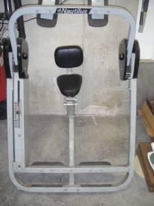 nautilus ab crunch machine
