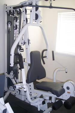 Nautilus Ns 600 Complete Gym With Ns 75 Leg Press