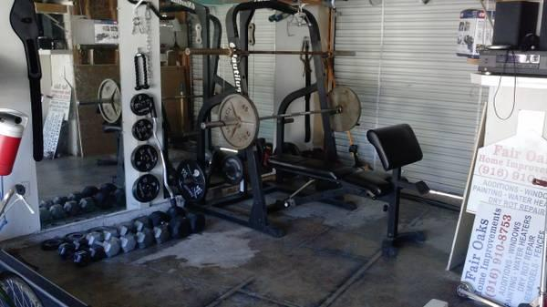 nautilus olympic weight set for Sale in Citrus Heights California