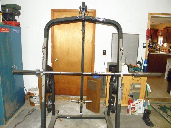 Nautilus Power Rack W Lat S Charlotte For Sale In
