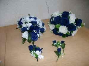 Navy Blue Wedding Flowers Sacto 95838 For Sale In Sacramento