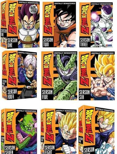 COMPLETE DRAGON BALL Z SERIES 832-429-8103