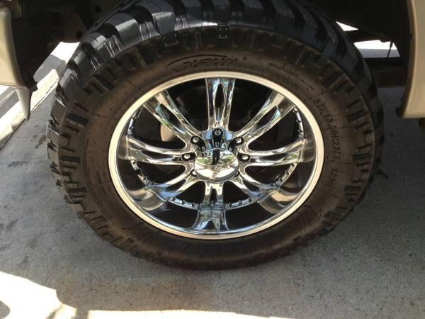 Ford F250 For Sale Near Me >> NEAR NEW 22 INCH CHROME WHEELS RIMS 8 LUG FORD F250 F350