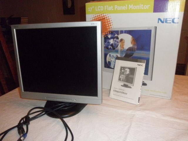 NEC LCD1712 17in LCD Monitor