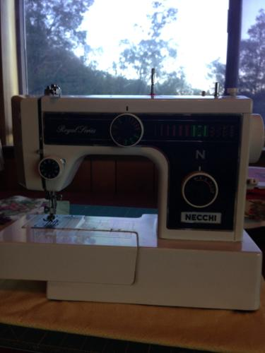 Necchi Royal Series Sewing Machine with Cutter