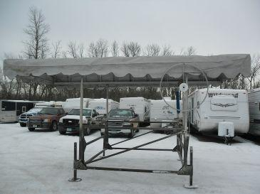 Need a used lift for your fishing boat for sale in for Used fishing boats for sale mn