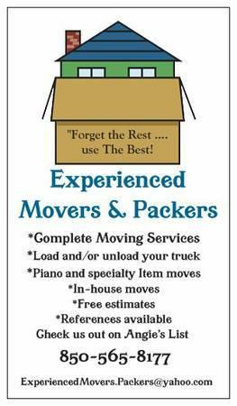 Need Your Paino or special item moved?