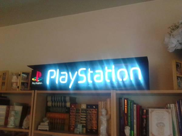 Neon Sony Playstation Sign - $175