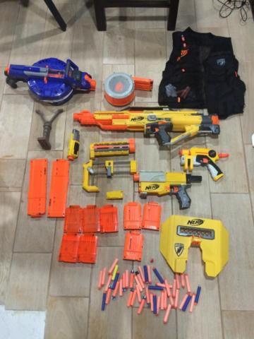 Nerf Gun Collection Stampede Strike Recon Strike