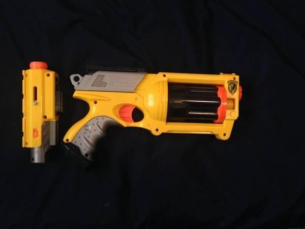 Nerf Gun Maverick with Laser Site