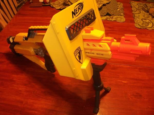 Nerf N Hit Stampede Ecs Dart Gun With Extras For Sale In
