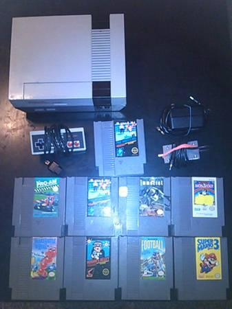 nes with games - $100