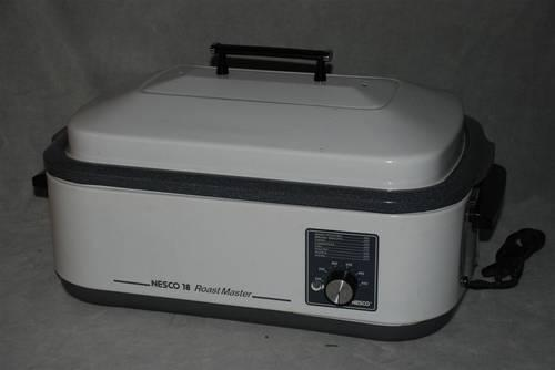 Nesco Countertop Oven : NESCO 18 QUART ROAST MASTER PORTABLE ELECTRIC ROASTER OVEN WITH RACK ...