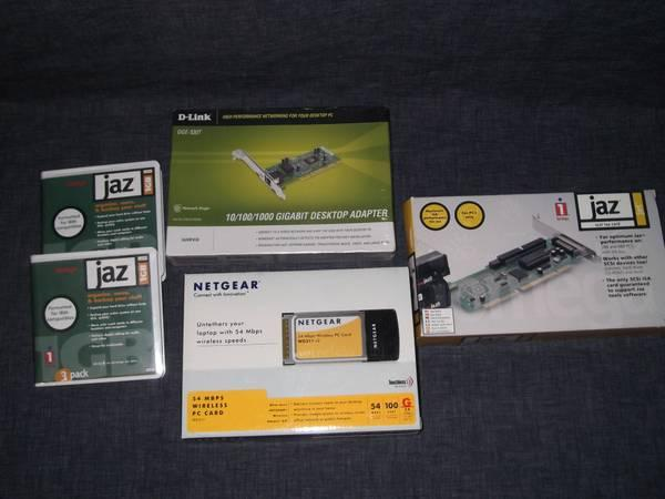 Net Gear - Jaz - D-link software - drives - NEW - $15