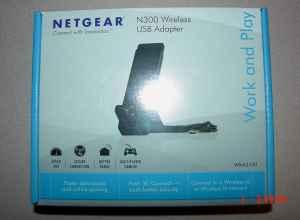 NETGEAR N300 WIRELESS USB ADAPTER NEW IN BOX - $28