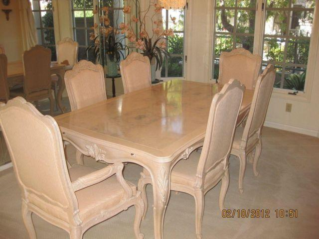 Never Used Bau Versailles Dining Room Table With Chairs For Sale In Laguna Beach California Classified Americanlisted Com