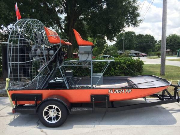 *New* 0540 13ft Airboat - $17200