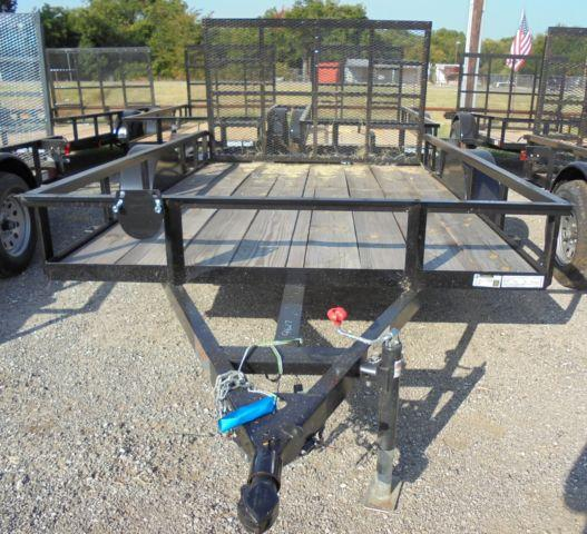 NEW 10x77 Utility Trailer 3500 Lb Axle