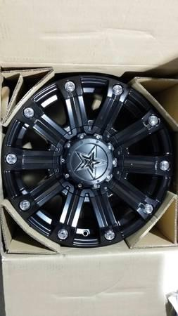 NEW 18 INCH BLACK OR POLISHED NAME BRAND WHEELS RIMS  TIRES 5X5.5 - $749