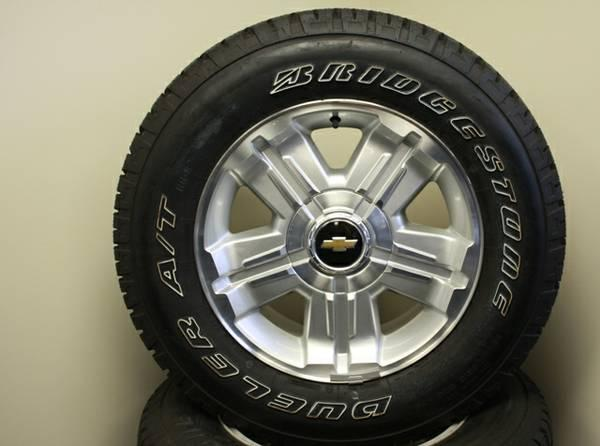 New 18 inch chevy wheels on bridgestone tires for sale in thomasville georgia classified