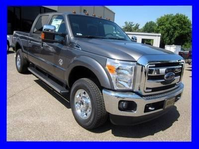 NEW 2012 FORD SUPER DUTY F-250 4WD CREW CAB LARIAT DIESEL ...