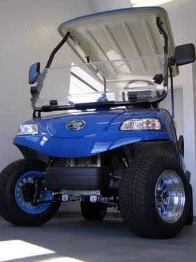 New 2012 HDK Electric Vehicle golf cart